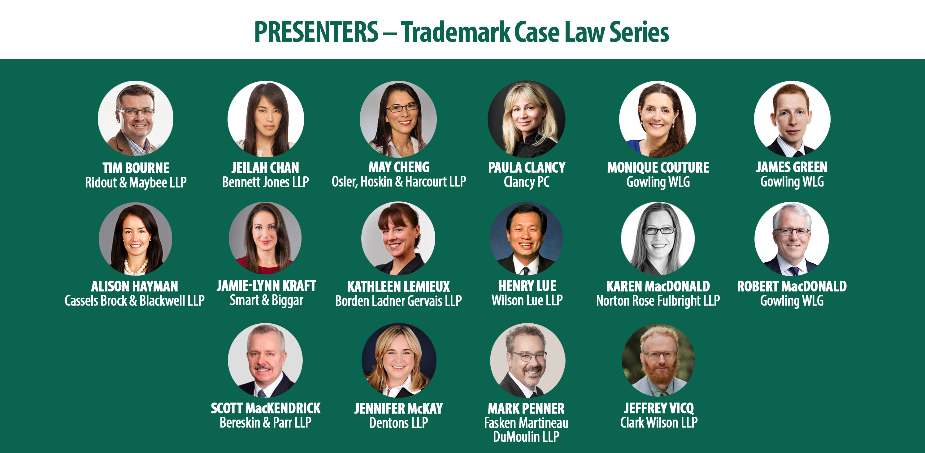 Trademark Case Law Speakers - EN